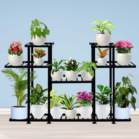 Planter Stand for Flower Pots - Aster Planter Stand- Multiple Pot Stand Indoor/Outdoor, Multipurpose Stand, Racks, Planter Stand