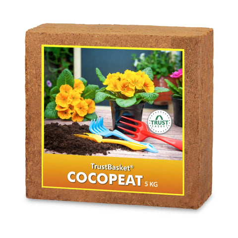 Garden Equipment & Accessories Online - COCOPEAT BLOCK - EXPANDS TO 75 LITRES of COCO PEAT POWDER