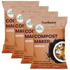 Set of 4 BOKASHI Compost Maker powder - 500gms