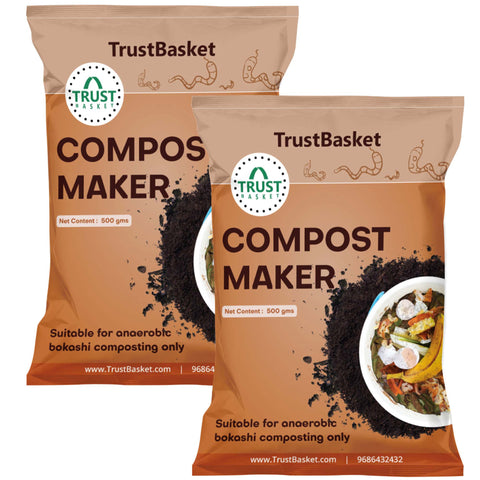 Gardening Products Under 599 - Set of 2 BOKASHI Compost Maker powder - 500gms