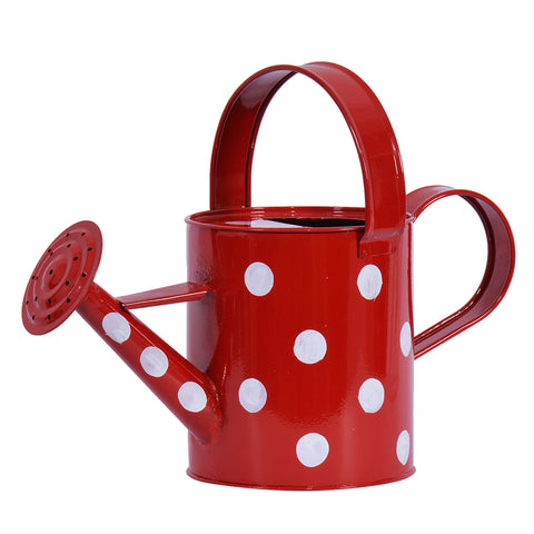 TrustBasket Designer Watering Can Red (2 Ltr Capacity)