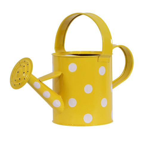 TrustBasket Designer Watering Can Yellow (2 Ltr Capacity)