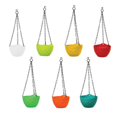 featured_mobile_products - Diamond Hanging Basket Mixed Colours (Set of 5)