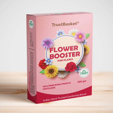 Best Plant Food Products in India - Flower Booster - Provides All Essential Multi Micro nutrients for All Flowering Plants Like Rose, Anthurium, Marigold etc . Each 500 grms Can be diluted to More Than 125 litres