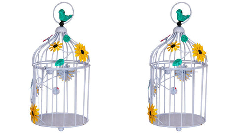 Set of 2 Birdcages - decor - Trust Basket