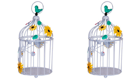 Garden Accessories Online - Set of 2 Birdcages - decor