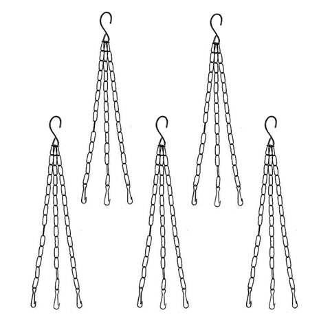 Garden Accessories Online - Hanging Metal Chain - Set of 5