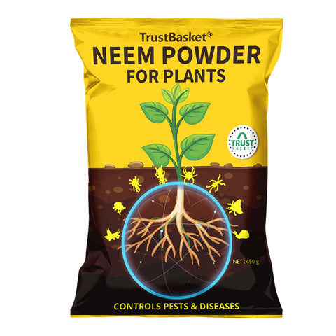 Gardening Products Under 599 - Neem Powder for Plants - 450 Gms