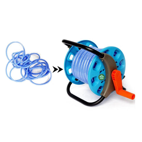 Garden Hose Reel Stand holds upto 20mtr Pipe