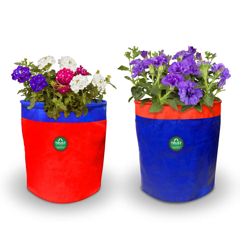 Best Garden Grow Bags in India - HDPE Grow Bags - Set of 2