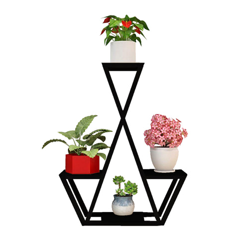 Planter Stand for Flower Pots - TrustBasket Elegant Planter Stand for Flower Pots