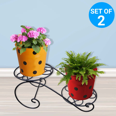 Garden Accessories Online - Table Top Planter Stand - Set of 2