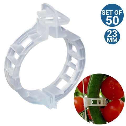 Garden Equipment & Accessories Online - Plant Support Garden Clips - Set of 50