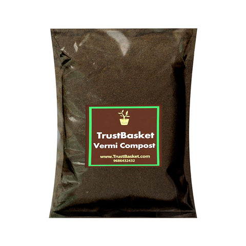 TrustBasket VermiCompost- 1 kg