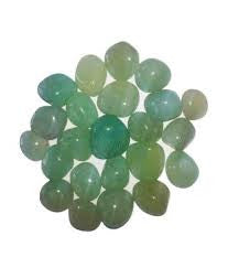 Onyx green Pebbles (1 Kg) - Trust Basket  - 1