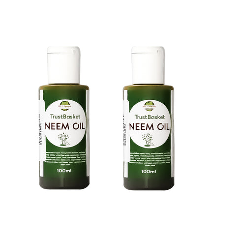 Best Plant Food Products in India - Set of 2 Neem Oil for Plants (100ml each)