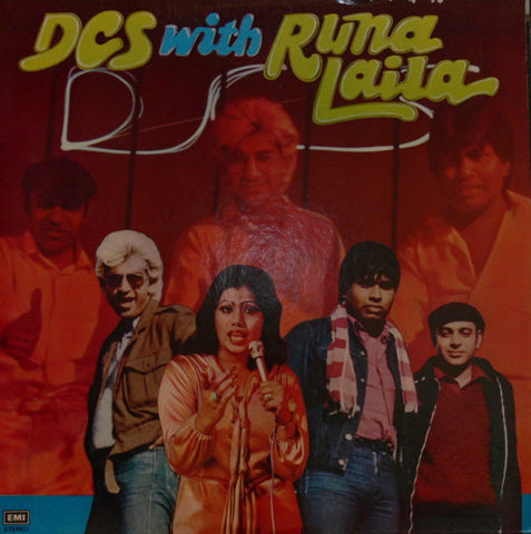 DCS with Runa Laila - Brand new Punjabi Bollywood Vinyl LP