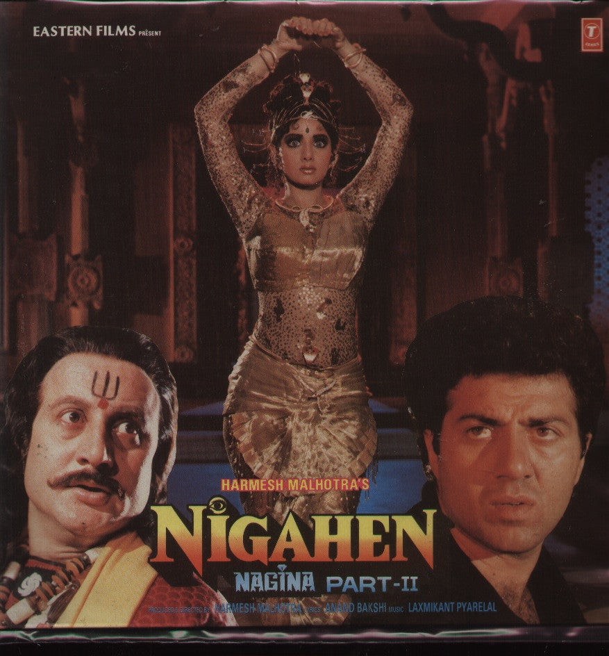 Nigahen - (Nagina Part 2)- Bollywood Vinyl LP