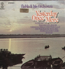 Babla & his Orchestra - Yesterday once more Indian Vinyl LP