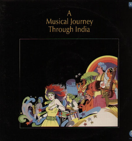 A Musical Journey Through India - Bollywood Vinyl LP