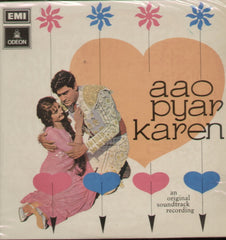 Aao Pyar Karen Hindi Bollywood Vinyl LP