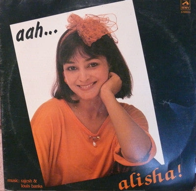 Alisha Chinai - Aah - Bollywood Vinyl LP
