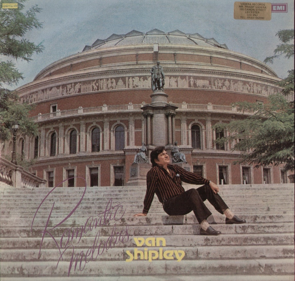 Van Shipey - Wondrous Melodies Bollywood Vinyl LP