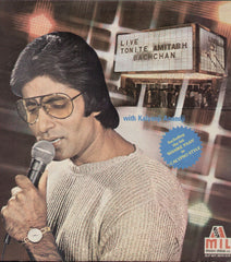 Live Tonite - Amithabh Bachchan Indian Vinyl LP