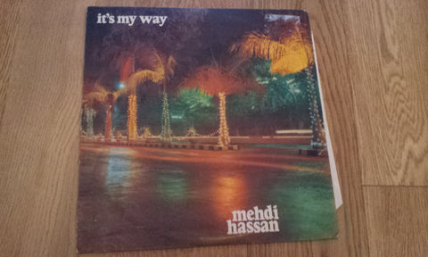 Its my Way - Mehdi Hassan Bollywood Vinyl LP