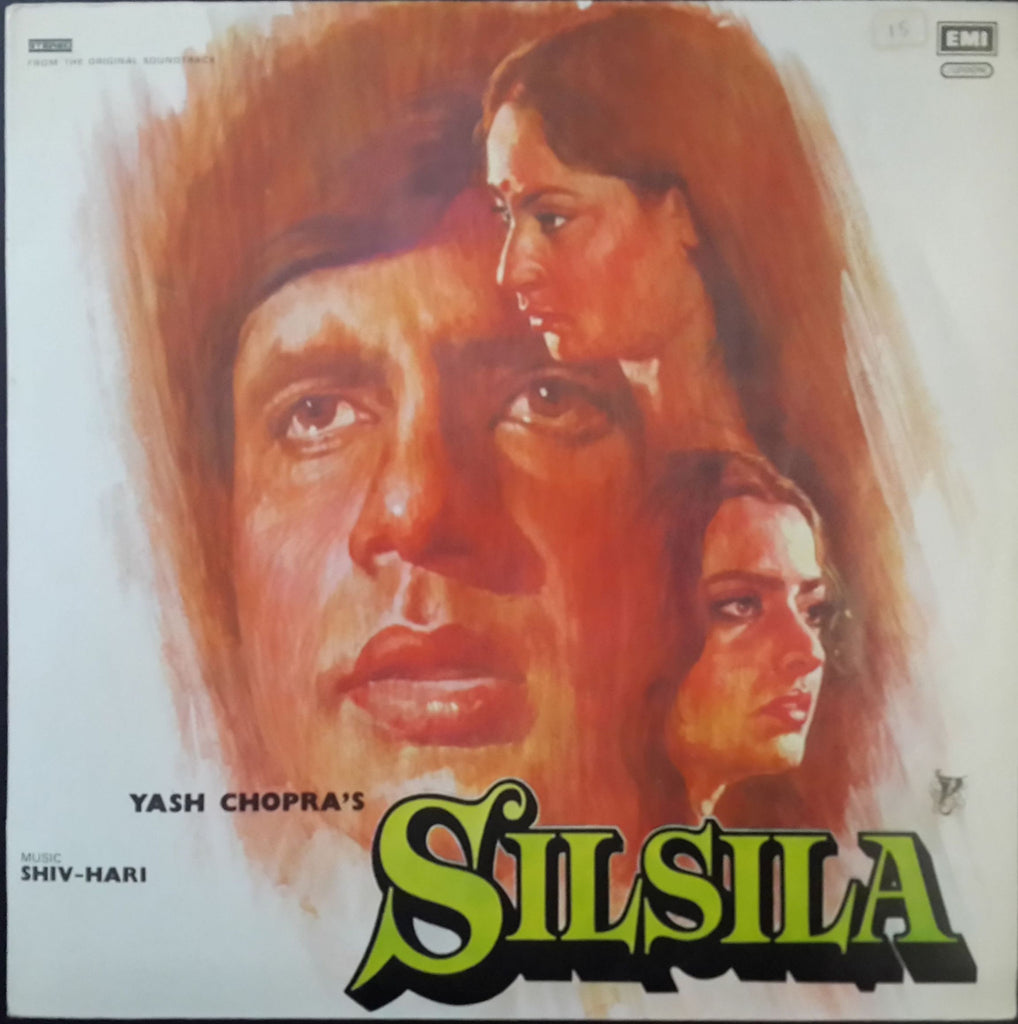 Silsila - Double Gatefold Indian Vinyl LP