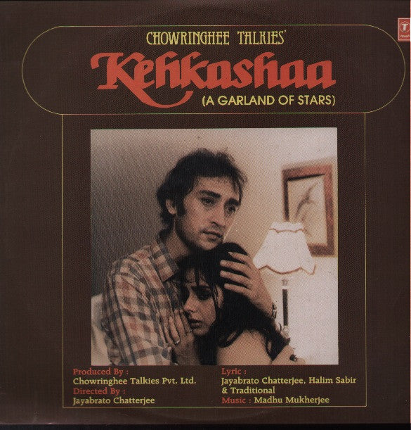 Kehkashaa - Garland of Stars Bollywood Vinyl LP