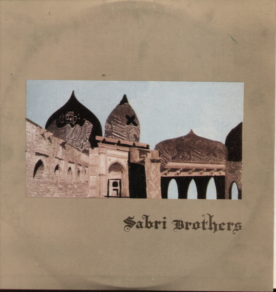 Sabri brothers Qawwali-Pakistani Bollywood Vinyl LP