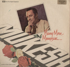 Many More memories.. Mukesh Indian Vinyl LP