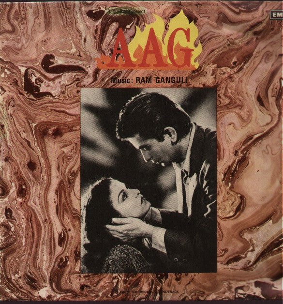 Aag Hindi Bollywood Vinyl LP