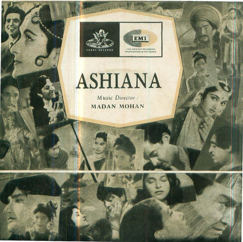 Ashiana - Hindi Bollywood Vinyl EP