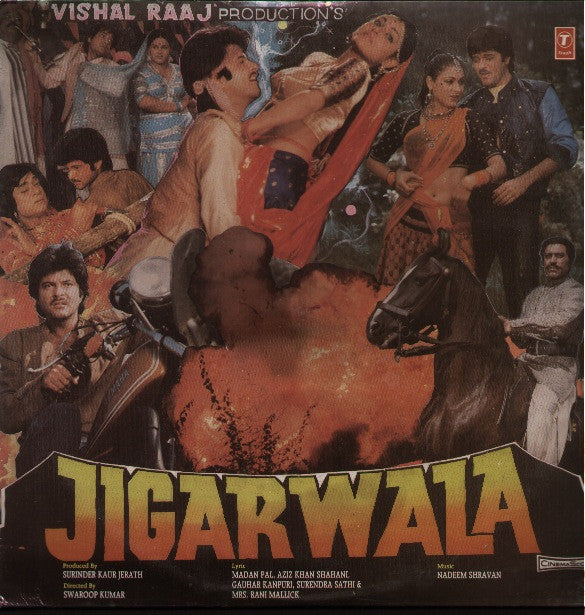 Jigarwala Bollywood Vinyl LP