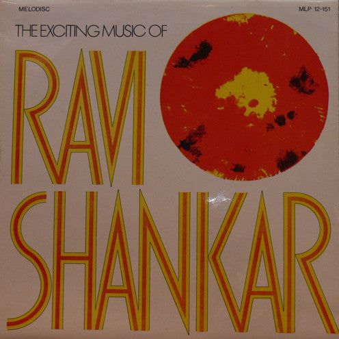 Ravi Shankar - Volume 1 Bollywood Vinyl LP