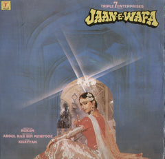 Jaan E Wafa Bollywood Vinyl LP