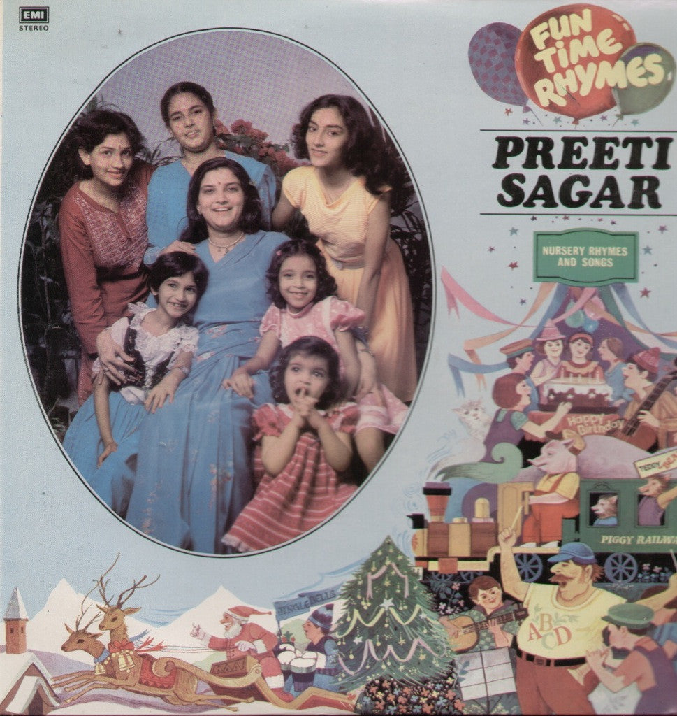 PREETI SAGAR Bollywood Vinyl LP