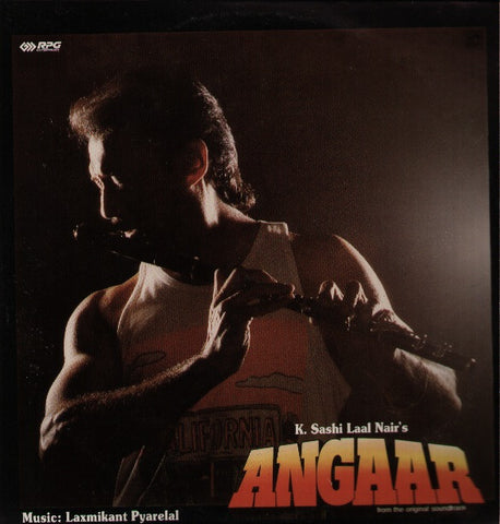 Angaar - New Hindi Indian Vinyl LP