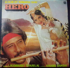 Hero - Subhash Ghai Hit Indian Vinyl LP