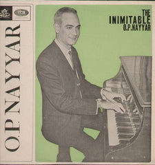 The Inimitable O.P.Nayyar - Brand New Bollywood Vinyl LP