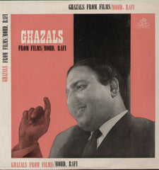 Ghazals From Mohd. Rafi Indian Vinyl LP