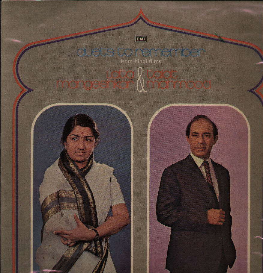 Lata Mangeshkar & Talat Mahmood Indian Vinyl LP