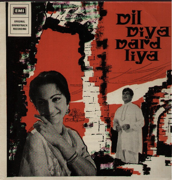 Dil Diya Dard Liya Indian Vinyl LP