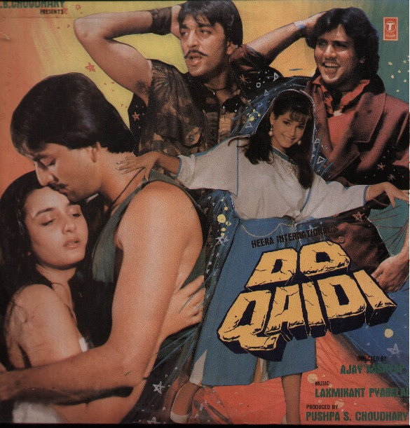 Do Qaidi Bollywood Vinyl LP
