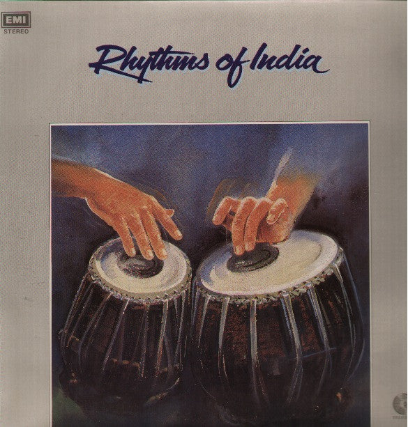 Rhythms Of India - Zakir Hussain Indian vinyl LP