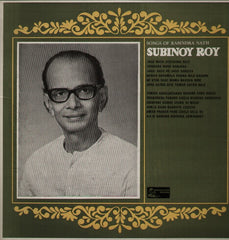Subinoy Roy - Bollywood Vinyl LP
