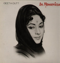 Geeta Dutt - In Memoriam Indian Vinyl LP