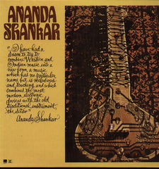 Ananda Shankar Bollywood Vinyl LP